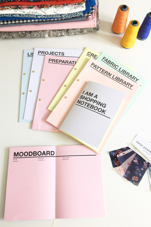 I AM Patterns Sewing Planner to organise all your sewing needs
