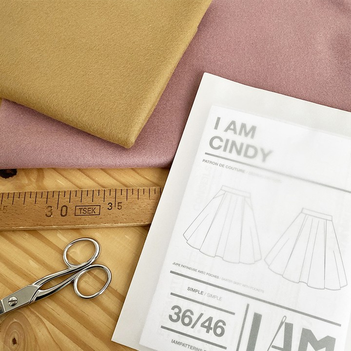I AM Patterns Jupe Cindy @ledressingdecindy Selection Tissu Ma Petite Mercerie