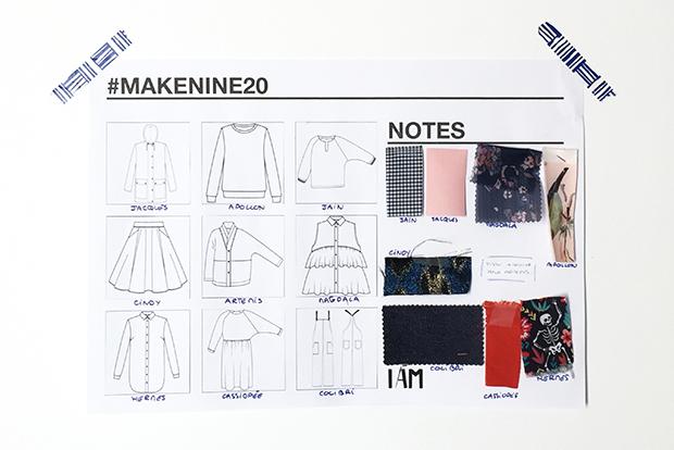 I AM Patterns Organiseur 2020 Makenine