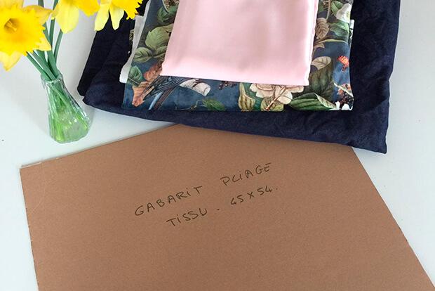 I AM Patterns Organiseur Couture Organised Organiser Ranger Ses Tissus Gabarit