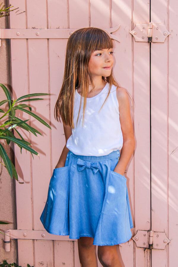 I AM Patterns Patron Couture Enfants Jupe Cindy Patineuse @lespipelettesontdesailes