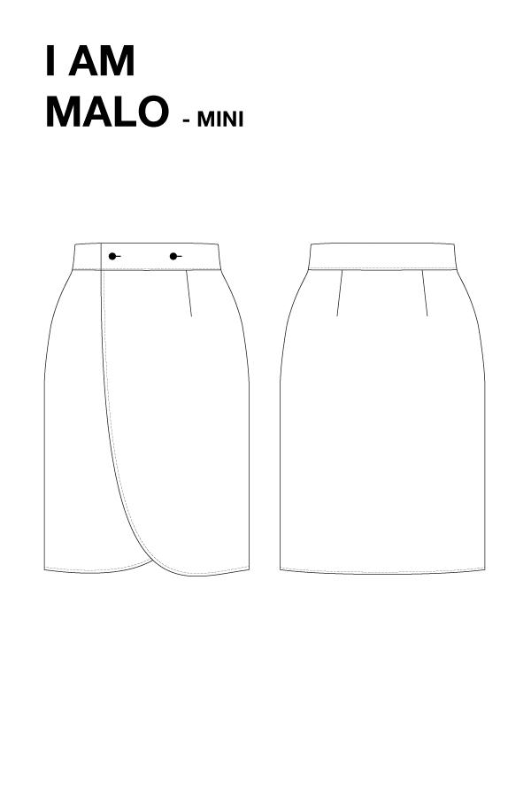 I AM MALO Mini Patron Couture Dessin Technique