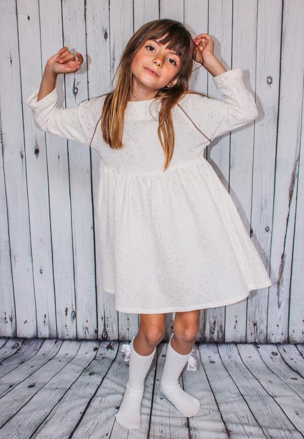 I AM Patterns Children Sewing Pattern Oversized Gathered Cassiopee Mini Dress