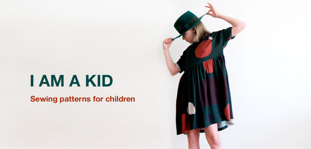 I AM A KID - sewing patterns for children