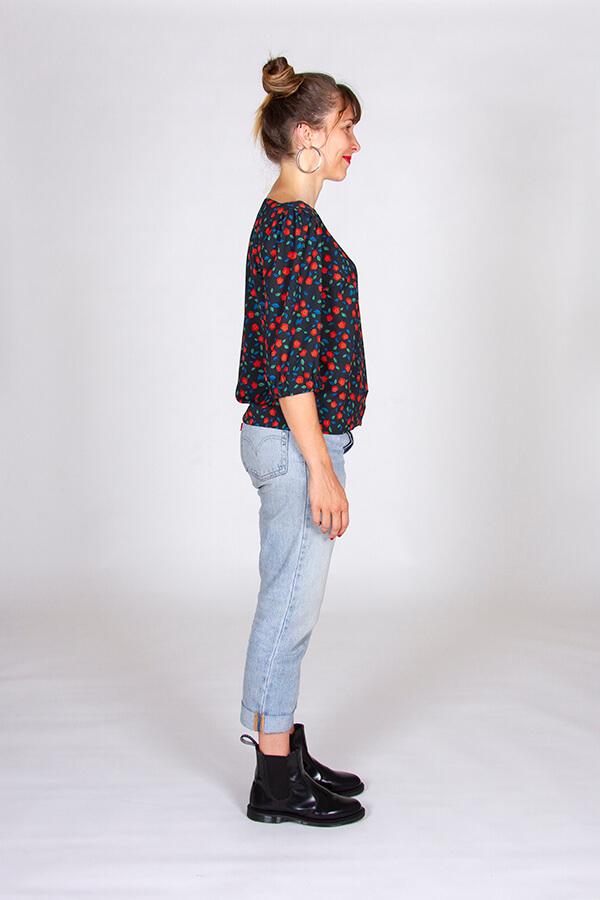 I AM Patterns Patron Blouse Joy Collab Tissu Atelier 27 Profil