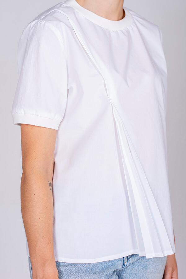 I AM Patterns Patron Couture Blouse Clochette Blanc Détail Zoom