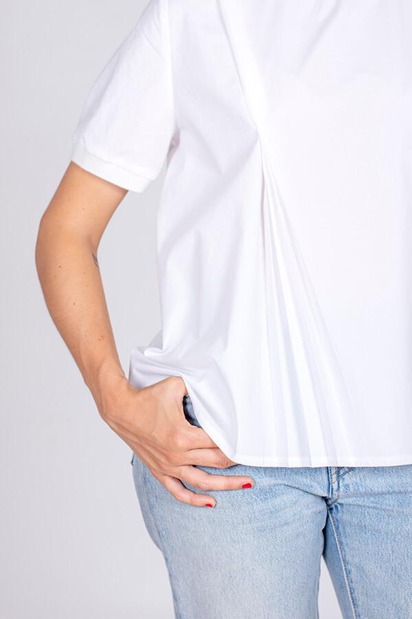I AM Patterns Patron Couture Blouse Clochette Blanc Détails