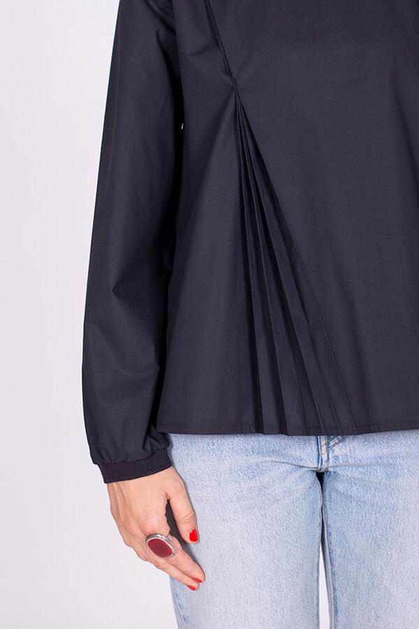 I AM Patterns Patron Couture Blouse Clochette Noir Detail Plis