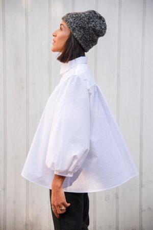I AM Patterns Patron Couture Irma Chemise Blanche Profil @la_meuf_qui_coud