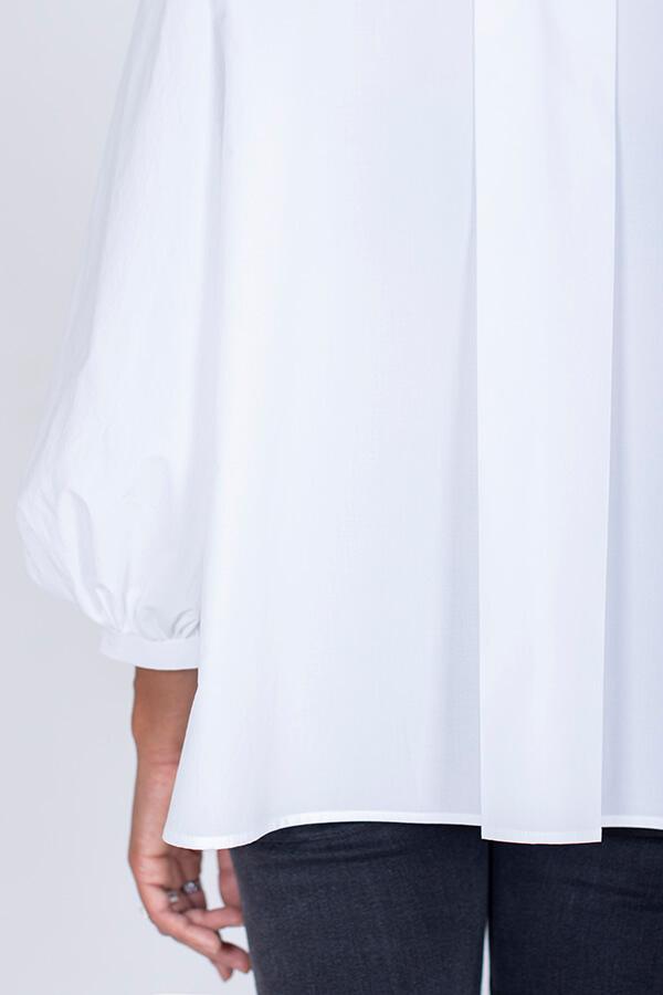 I AM Patterns Ladies Sewing Pattern Irma Shirt White Back Sleeve Detail