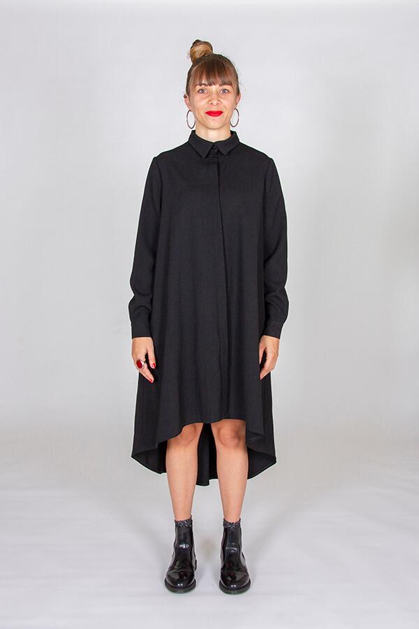 I AM Patterns Ladies Sewing Pattern Irma Shirt-Dress Front 2