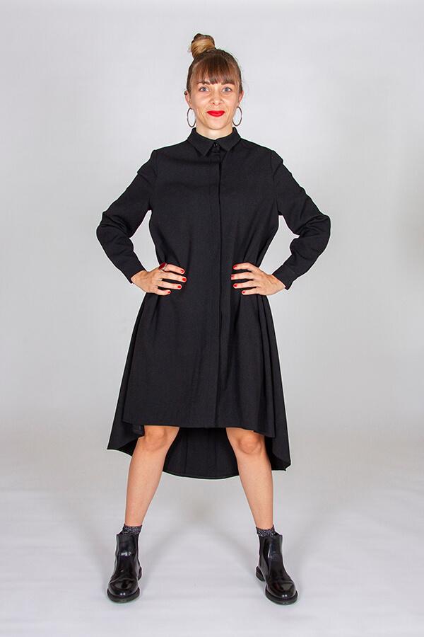 I AM Patterns Ladies Sewing Pattern Irma Shirt-Dress Front 3