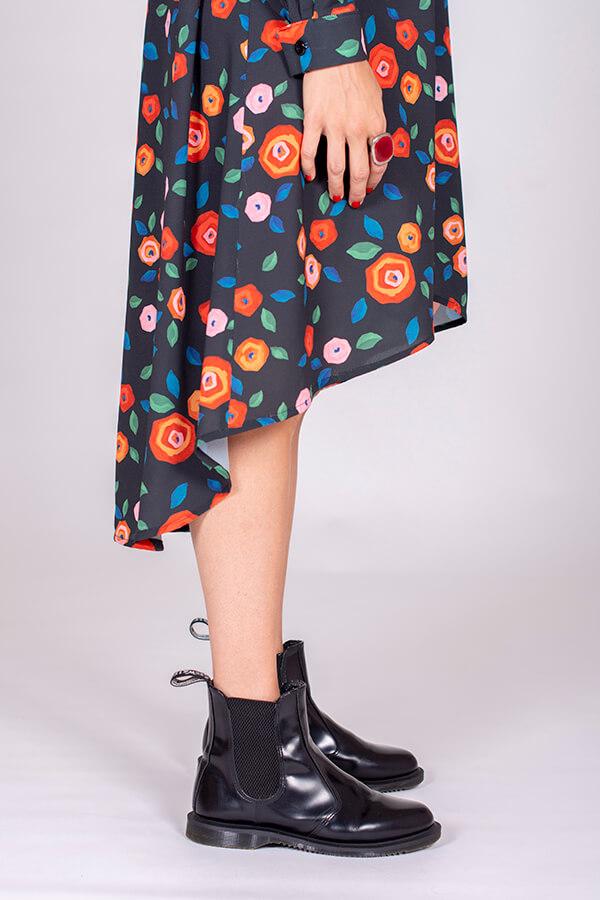 I AM Patterns Ladies Sewing Pattern Irma Dress-Shirt Atelier 27 detail
