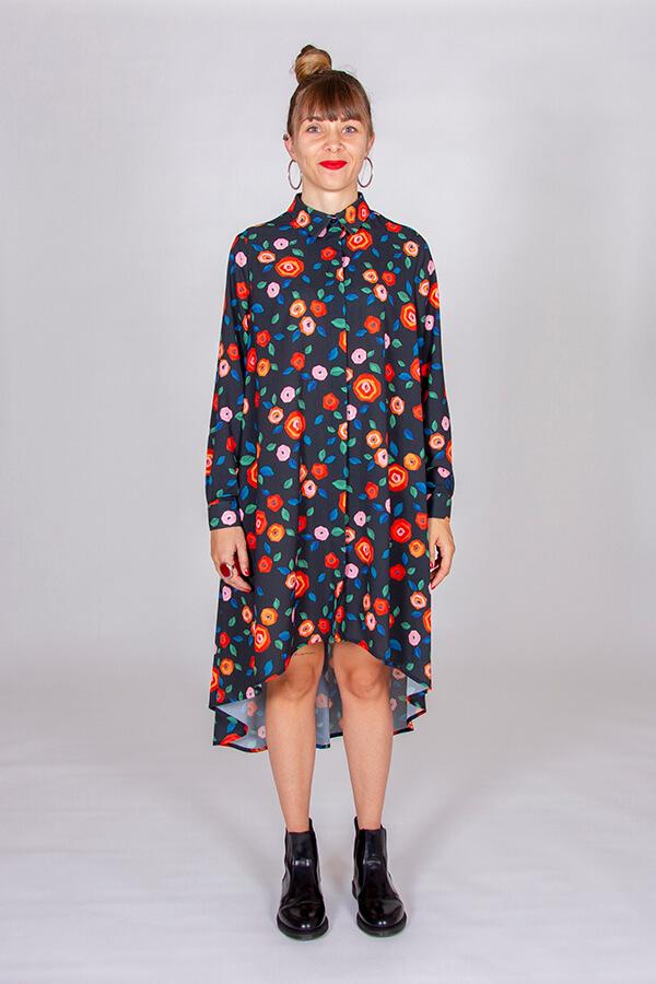 I AM Patterns Patron Couture Irma Robe Tissu Atelier 27 Devant