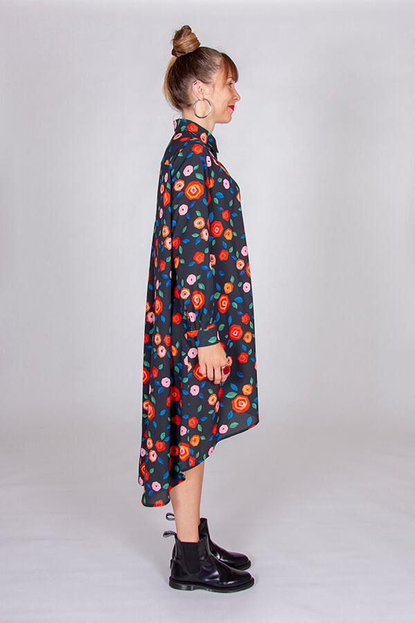 I AM Patterns Patron Couture Irma Robe Tissu Atelier 27 Profil