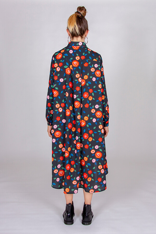 I AM Patterns Patron Couture Irma Robe Tissu Atelier 27 Dos