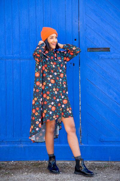 I AM Patterns Patron Couture Irma Robe Tissu Atelier 27 @la_meuf_qui_coud