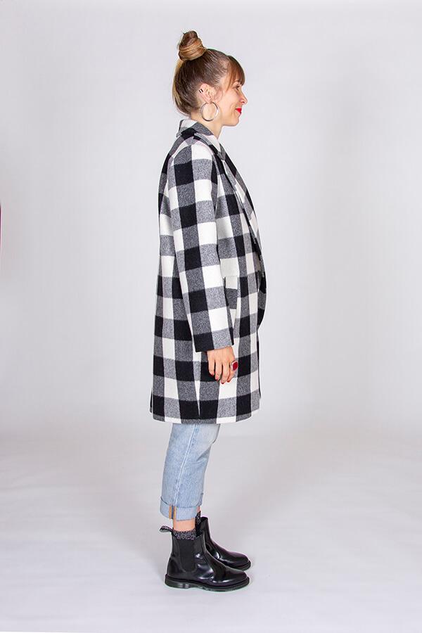 I AM Patterns Patron Couture Merlin Manteau Doublé Profil