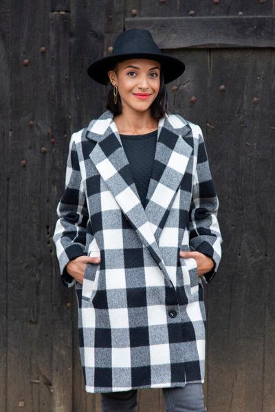 I AM Patterns Patron Couture Merlin Manteau Double @la_meuf_qui_coud Devant