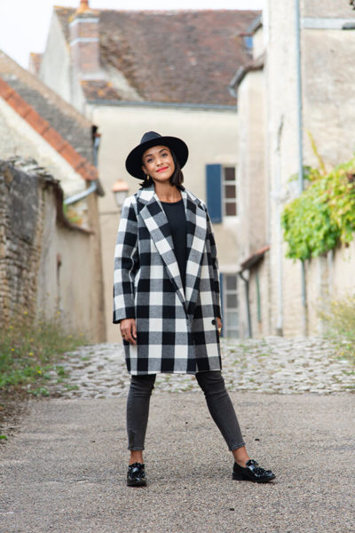 I AM Patterns Patron Couture Merlin Manteau Doublé @la_meuf_qui_coud Rue