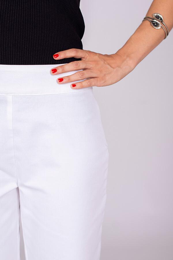 I AM Patterns Patron Couture Panoramix Pantalon blanc détail