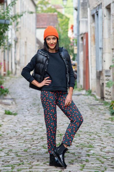I AM Patterns Patron Couture Panoramix Pantalon Tissu Atelier 27 @la_meuf_qui_coud rue
