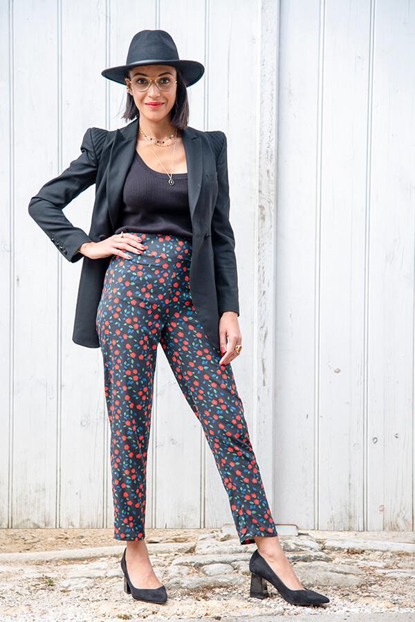 I AM Patterns Patron Couture Panoramix Pantalon Tissu Atelier 27 La Meuf Qui Coud