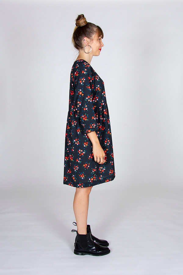 I AM Patterns Patron Robe Cassiopee Atelier 27 Profil