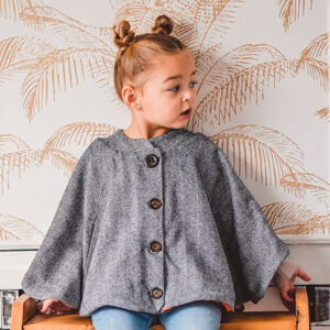 I AM Patterns Patron Couture Enfant Harry Mini Cape Poches @peppatii