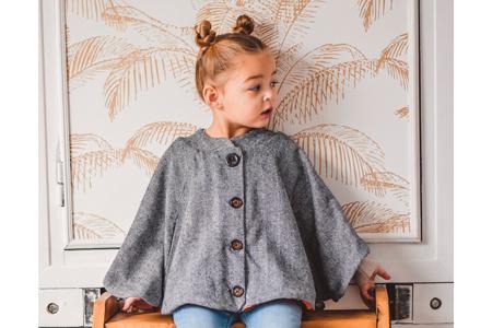 I AM Patterns Patron Couture Enfant Harry Mini Cape Poches @peppatii