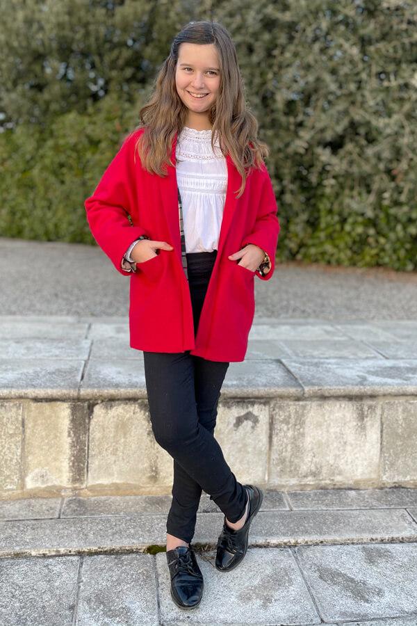 I AM Patterns Artemis jacket Unisex coat Kids