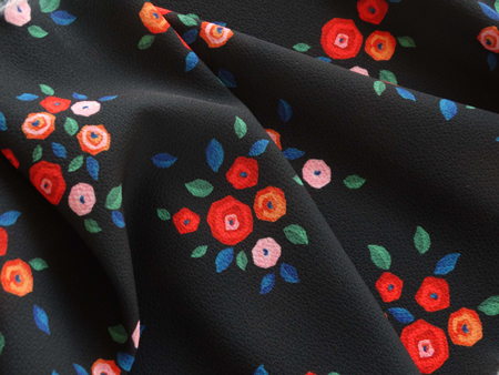 I AM Patterns Eastern Wonders Fabric Collaboration Atelier 27 Crepe Delice