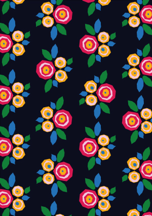 I AM Patterns Eastern Wonders Fabric Collab Atelier 27 test