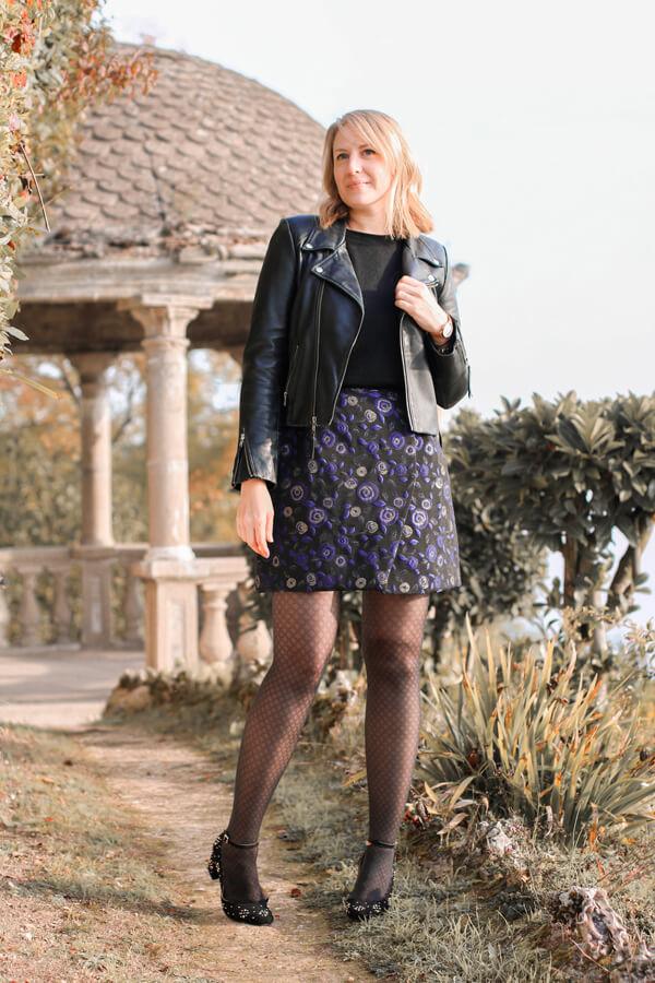 I AM Patterns Patron Couture Jupe Julie @ateliersvila Portefeuille Jacquard Atelier27 Bleu
