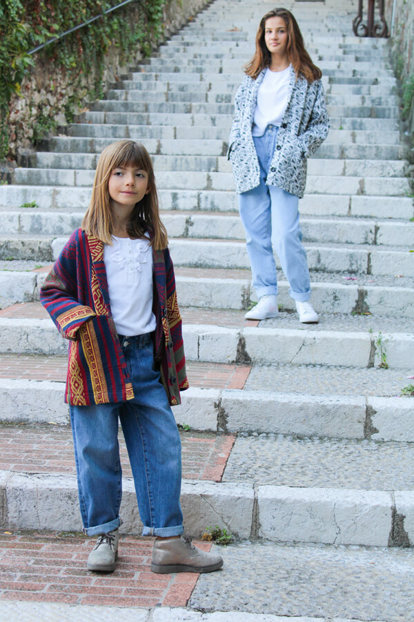 I AM Patterns unisex sewing pattern for kids Artemis jacket for boys and girls