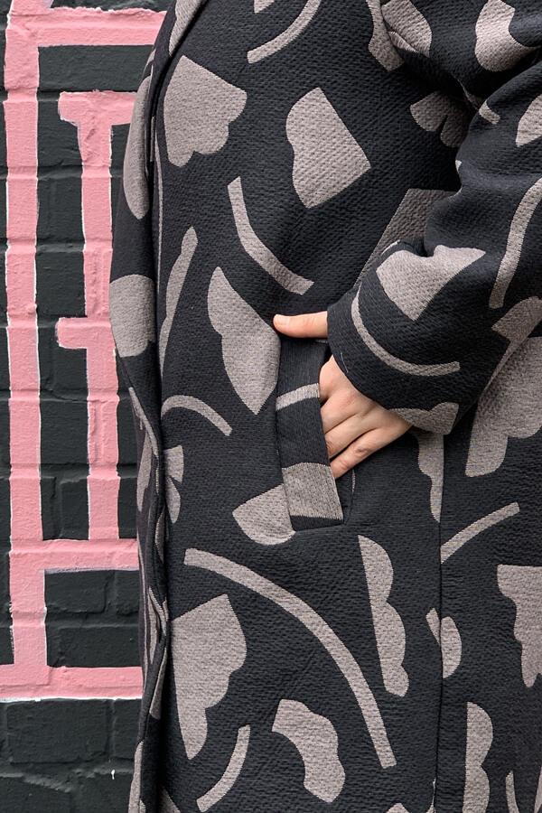 I AM Patterns Fully Lined Coat Sewing Pattern Welt Pocket Detail