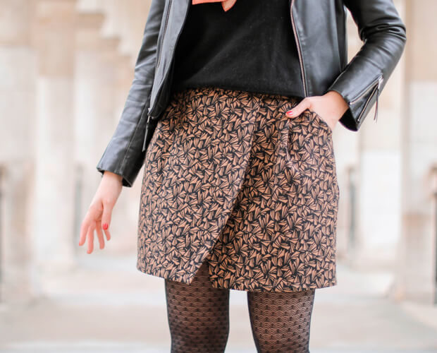 Skirt I AM Julie Ateliersvila Blog Sewing Tutorial Pockets and Lining