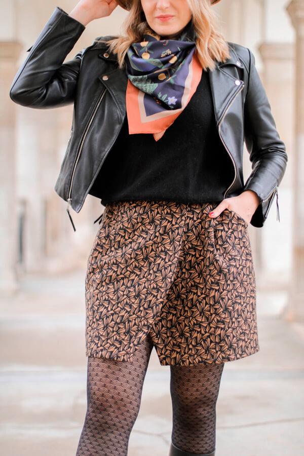 Jupe I AM Julie Ateliersvila Blog Couture Tuto Poches et Doublure