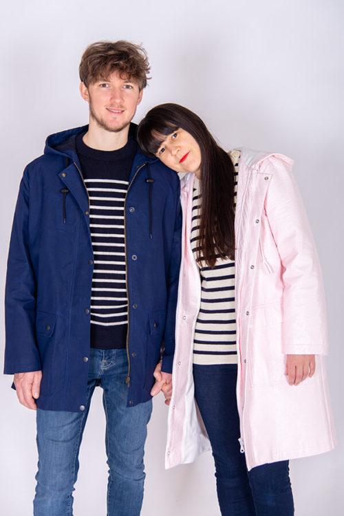 I AM Patterns Patron Couture Cire Et Manteau A Capuche Jacques Duo Homme Femme