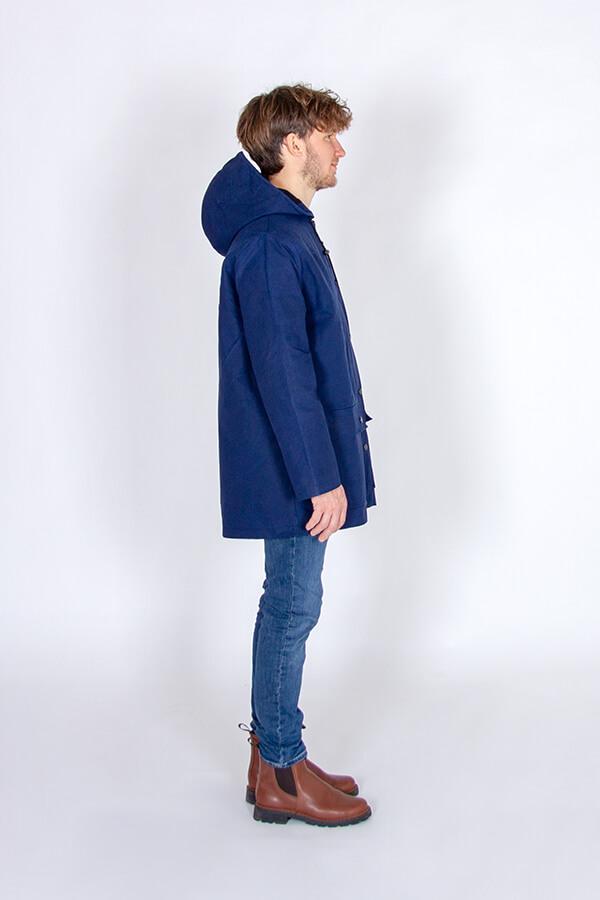I AM Patterns Patron Couture Cire Et Manteau A Capuche Jacques Homme Coton Ciré Ma Petite Mercerie