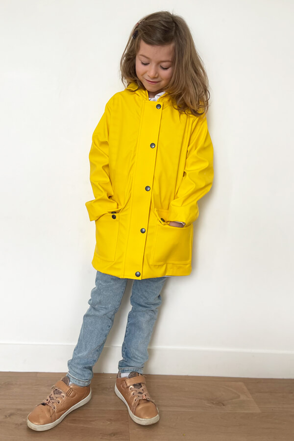 I AM Patterns sewing pattern classic raincoat unisex girl Jacques Mini