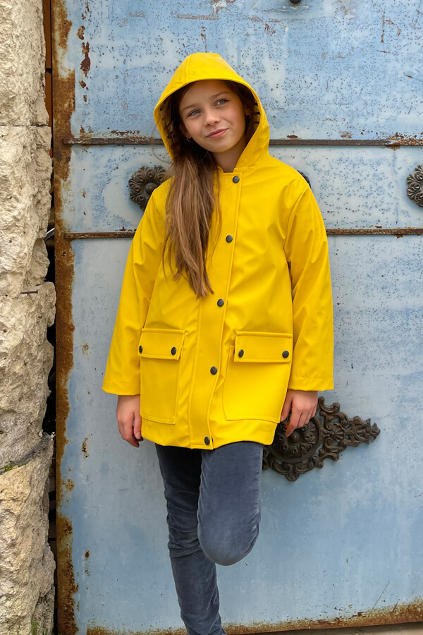 I AM Patterns Patron Couture Cire Jaune Classique Unisexe Fille Jacques