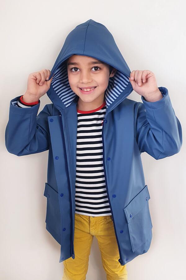 I AM Patterns Patron Couture Cire Bleu Classique Unisexe Garcon Jacques