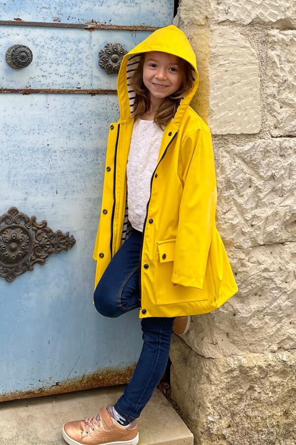 I AM Patterns sewing pattern classic raincoat unisex girl Jacques Mini