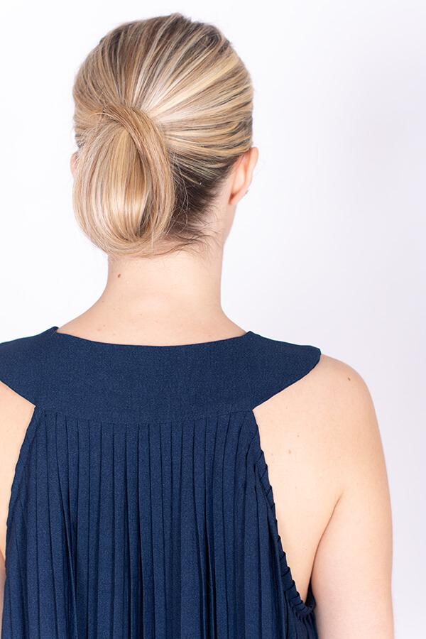 I AM Cléopâtre pleated dress by I AM Patterns