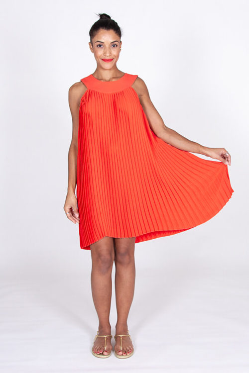 I AM Cléopâtre pleated dress by I AM Patterns