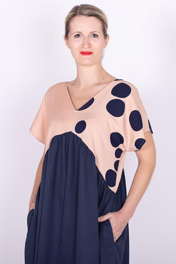I AM Shérazade geometric dress by I AM Patterns