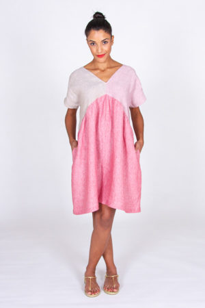 I AM Patterns Robe Poches Sherazade Rose Lin Stragier 11