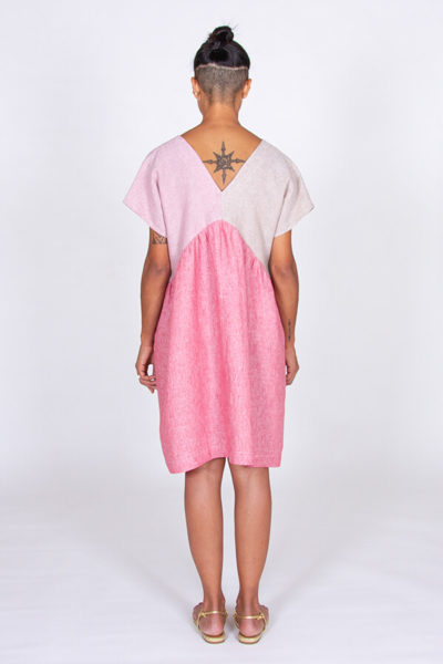 I AM Patterns Robe Poches Sherazade Rose Lin Stragier 8
