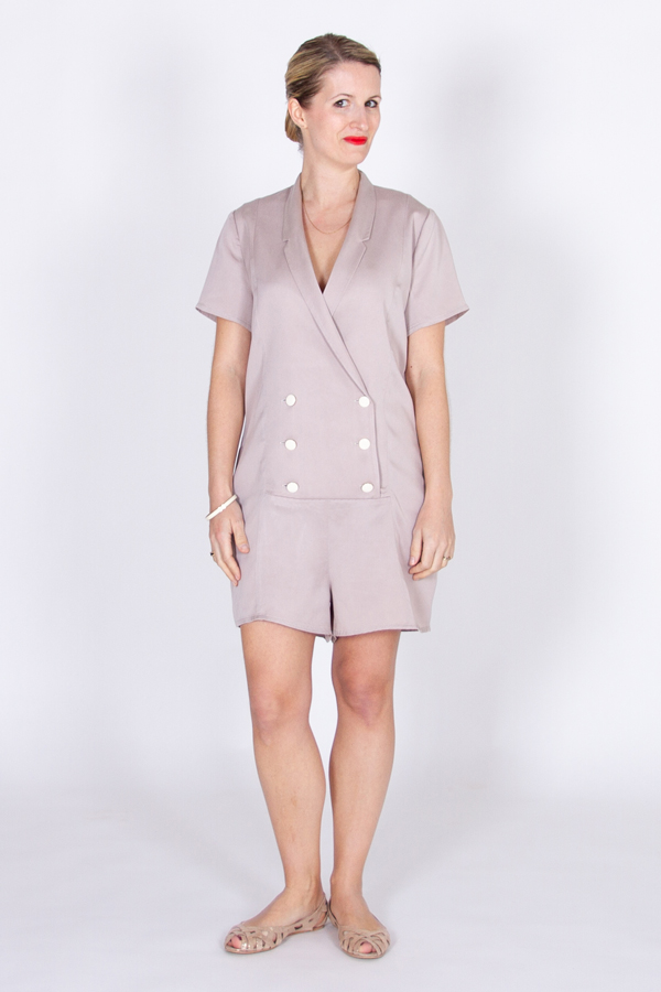 I AM Diana Ladies Playsuit Sewing Pattern by I AM Patterns